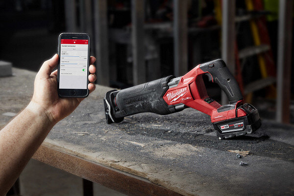 The new M18 Fuel Sawzall with ONE-KEY™ (model #2822-22). Courtesy of Milwaukee Tool