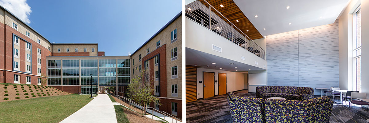Allen Hall at Western Carolina University
