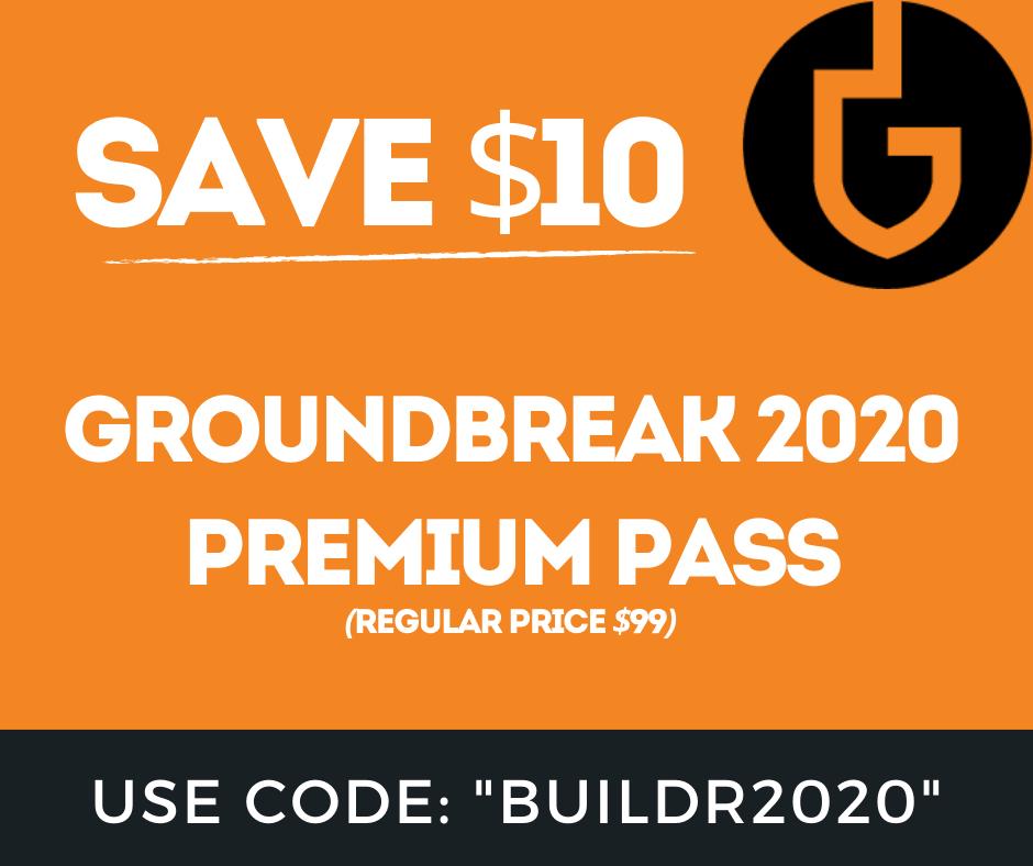 Groundbreak 2020 COupon Code.png